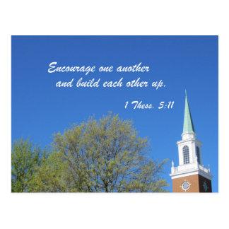 1 Thessalonians 5:11 Postcard