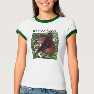 #1 Tree Hugger Tshirt