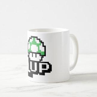 1 Up Green Mushroom - Mug