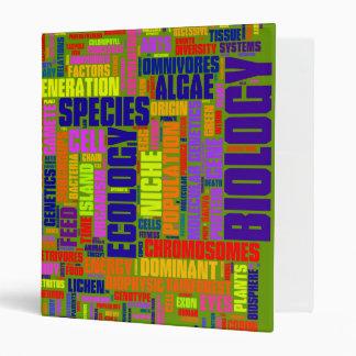 1'' Vibrant Green Biology Binders