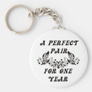 1 Year Anniversary Keychain