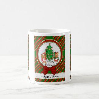 #1 Yorkie Mom Merry Christmas Santa Elf Yorkie Mug