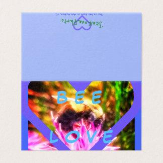 1BEE LOVE 2x3.5 MINI CARDS