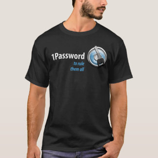 1Password MW Expo 2009 T-Shirt