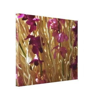 1Pretty Floral Home Office Decor Canvas Print