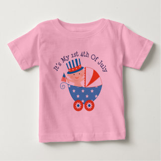 1st 4th of July (Baby) Baby T-Shirt