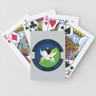1st Air Support Operations Squadron - Reapers Bicycle Playing Cards
