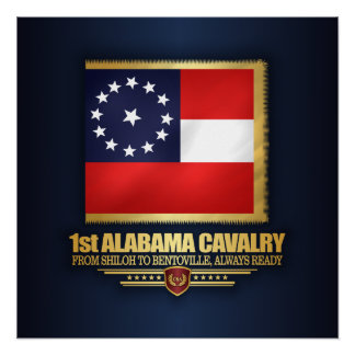 1st Alabama Cavalry Poster