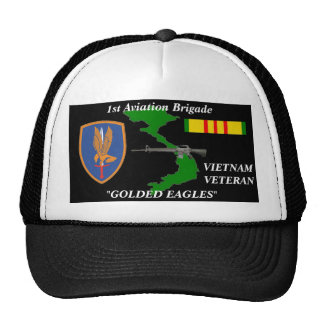 1St Aviation Brigade Vietnam Veteran Ball Caps Trucker Hat