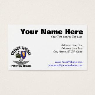 1st Avn Bde Master Aviator Business Card