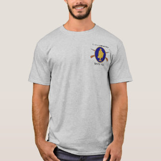1st Battalion, 111th Infantry T-Shirt