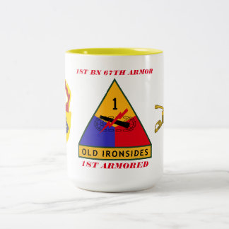 1ST BATTALION 67TH ARMOR 1ST ARMORED MUG