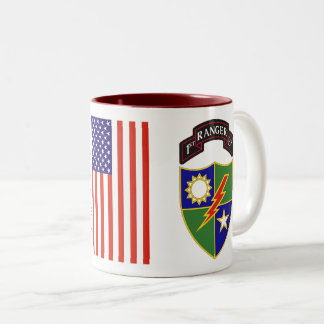 1st Battalion - 75th Ranger Regiment Two-Tone Mug