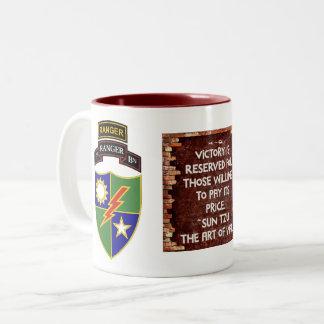 1st Battalion - 75th Ranger w/Tab - Victory Mug
