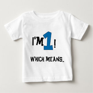 1st birthday baby T-Shirt