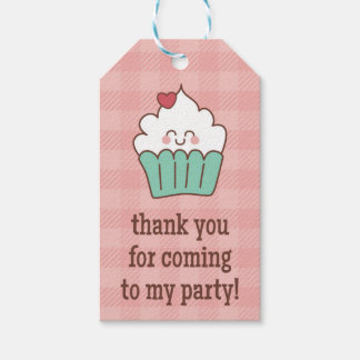 1st Birthday Cupcakes - Gift Tag Pack Of Gift Tags