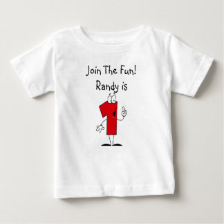 1st Birthday Customized  T-shirt