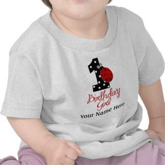 1st Birthday Girl - Lady Bug - 1 - Ladybug Shirts