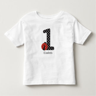 1st birthday ladybug shirt for a 1 year old