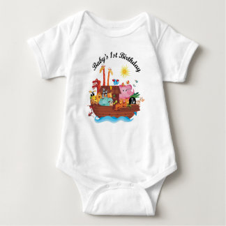 1st Birthday Noah's Ark Childs T-shirt