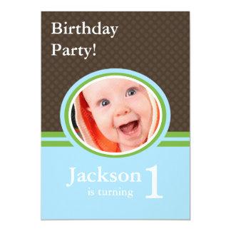 1st Birthday Party Invitations