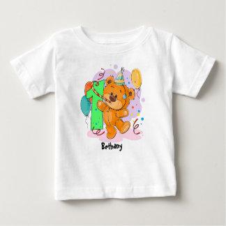1st Birthday Teddy Bear Baby T-Shirt