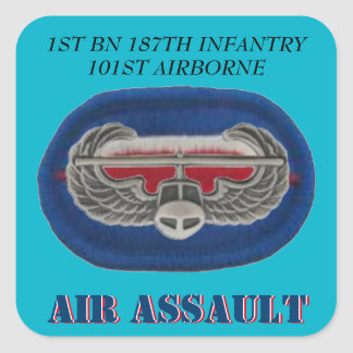 1ST BN 187TH INFANTRY 101ST AIRBORNE STICKERS