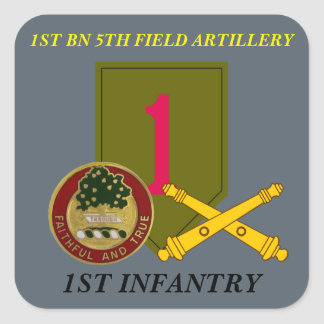 1ST BN 5TH FIELD ARTY 1ST INFANTRY STICKERS