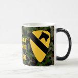 1st Calvary Division Camo Green Vietnam Coffee Mug