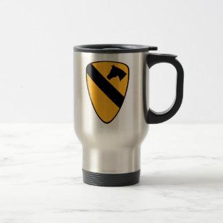 1st Cav Patch Travel Mug