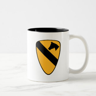 1st Cav Patch Two-Tone Mug