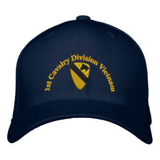 1st Cav Vietnam Embroidered Hat