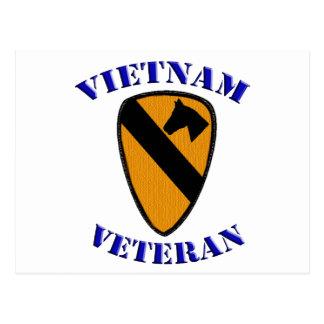 1st Cav Vietnam Veteran Postcard