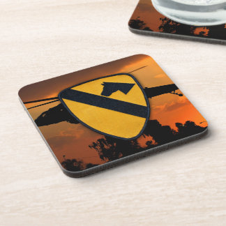 1st Cavalry Air Cav CD Fort Hood Veterans Vets Coaster