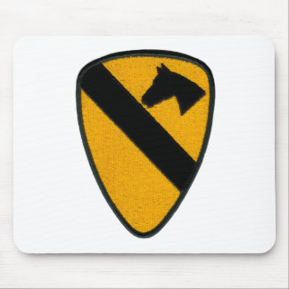 1st Cavalry Army Patch Mousepad