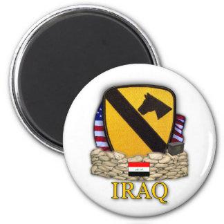1st cavalry division air cav airmobile veterans 2 inch round magnet
