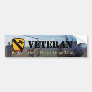 1st cavalry division air cav nam bumper sticker