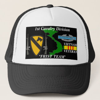 "1st Cavalry Division""First Team"" Vietnam Ball Caps"