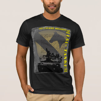 1st Cavalry Division - M1A1 Tanker T-Shirt