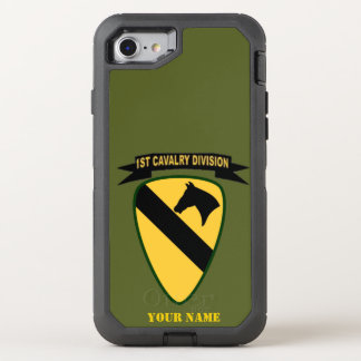 1st CAVALRY DIVISION OtterBox Defender iPhone 8/7 Case