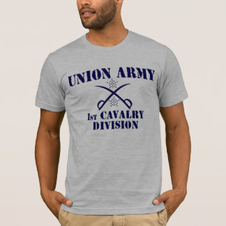 1st Cavalry Division, Union Army Civil War Shirt