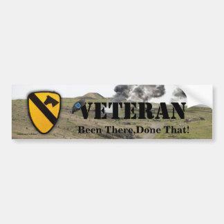 1st cavalry division veterans vets bumper sticker