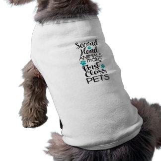 1st Class Pets Pet Tshirt