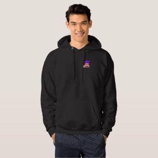 "1st Combat Comm ""1"" logo hoodie"