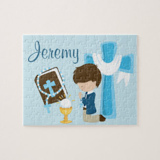 1st Communion Personalized Name Puzzle