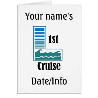 1st Cruise Card