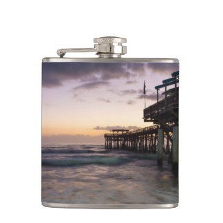 1st Dawn Cocoa Pier Hip Flask