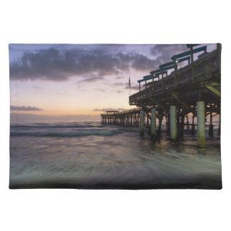 1st Dawn Cocoa Pier Place Mat
