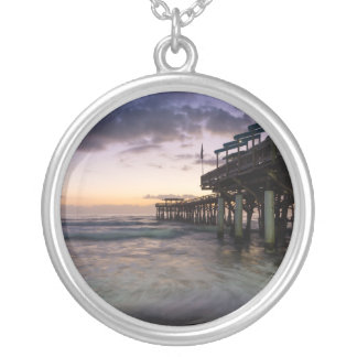 1st Dawn Cocoa Pier Silver Plated Necklace