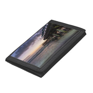 1st Dawn Cocoa Pier Tri-fold Wallet